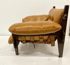 Sergio Rodrigues JACARANDA AND LEATHER MISCHEVIOUS CHAIR BY SERGIO RODRIGUES - 1911352