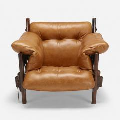 Sergio Rodrigues JACARANDA AND LEATHER MISCHEVIOUS CHAIR BY SERGIO RODRIGUES - 1911356