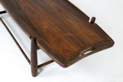 Sergio Rodrigues Mid Century Modern Arimello Center Table by Sergio Rodrigues Brazil 1958 - 1657886