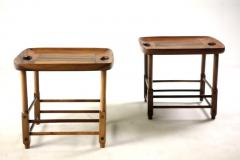 Sergio Rodrigues Mid Century Modern Pair of Magrini Stools by Sergio Rodrigues Brazil 1960s - 1371811