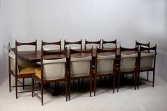 Sergio Rodrigues Mid Century Modern Redig Dining Table by Sergio Rodrigues Brazil 1950s - 1227651