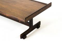 Sergio Rodrigues Mid Century Modern Rosewood Center Table by Sergio Rodrigues Brazil 1960s - 1669675
