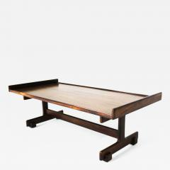 Sergio Rodrigues Mid Century Modern Rosewood Center Table by Sergio Rodrigues Brazil 1960s - 1670923