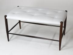 Sergio Rodrigues Mid Century Modern Rosewood Small Bench by Sergio Rodrigues Brazil 1950s - 1669677