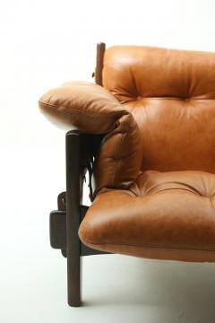 Sergio Rodrigues Mid century modern Moleca armchair by Brazilian designer Sergio Rodrigues - 1227571