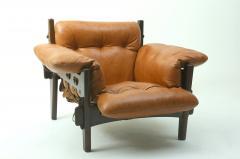 Sergio Rodrigues Mid century modern Moleca armchair by Brazilian designer Sergio Rodrigues - 1349766
