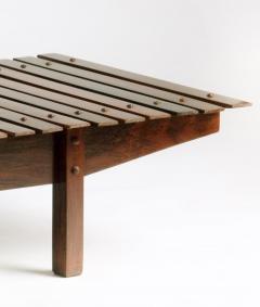 Sergio Rodrigues Mid century modern Mucki Bench by Brazilian designer Sergio Rodrigues - 1222341