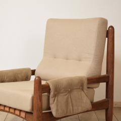 Sergio Rodrigues Midcentury Armchair in the Style of Sergio Rodrigues circa 1970 - 636669