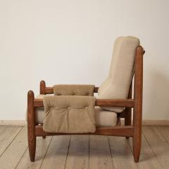 Sergio Rodrigues Midcentury Armchair in the Style of Sergio Rodrigues circa 1970 - 636672