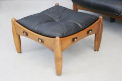 Sergio Rodrigues Sergio Rodrigues for Isa Bergamo Sheriff Lounge Chair and ottoman signed 1950s - 1508820