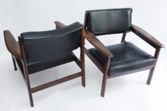 Sergio Rodrigues Set of 2 Mid Century Modern Drummond Armchair by Sergio Rodrigues Brazil 1950s - 1669681