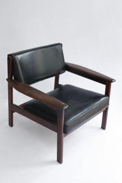 Sergio Rodrigues Set of 2 Mid Century Modern Drummond Armchair by Sergio Rodrigues Brazil 1950s - 1669685
