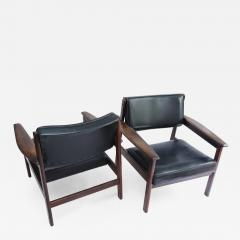 Sergio Rodrigues Set of 2 Mid Century Modern Drummond Armchair by Sergio Rodrigues Brazil 1950s - 1670925