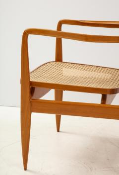 Sergio Rodrigues Set of Two Mid Century Modern Oscar Armchairs by Sergio Rodrigues Brazil 1956 - 2044671