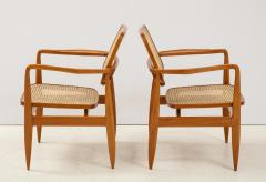 Sergio Rodrigues Set of Two Mid Century Modern Oscar Armchairs by Sergio Rodrigues Brazil 1956 - 2044673