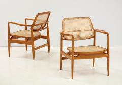 Sergio Rodrigues Set of Two Mid Century Modern Oscar Armchairs by Sergio Rodrigues Brazil 1956 - 2044680