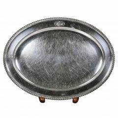 Set Of Four Regency Silver Plated Platters By Matthew Boulton - 1736322