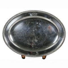 Set Of Four Regency Silver Plated Platters By Matthew Boulton - 1736323