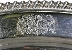 Set Of Four Regency Silver Plated Platters By Matthew Boulton - 1736326