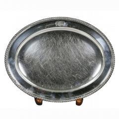 Set Of Four Regency Silver Plated Platters By Matthew Boulton - 1736336