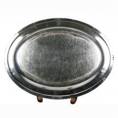 Set Of Four Regency Silver Plated Platters By Matthew Boulton - 1736337