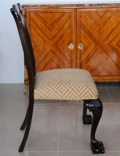Set of 12 Irish George II Style Elm Chairs circa 1880 - 391168