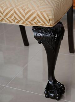 Set of 12 Irish George II Style Elm Chairs circa 1880 - 391170
