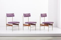 Set of 12 Upholstered Dining Chairs Italy 1960s - 2077089
