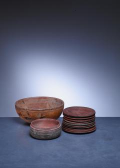 Set of 13 Swedish Folk Art Wooden Pieces - 846601