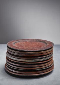 Set of 13 Swedish Folk Art Wooden Pieces - 846602