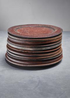 Set of 13 Swedish Folk Art Wooden Pieces - 846603