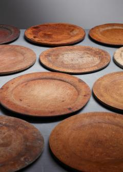 Set of 13 Swedish Folk Art Wooden Pieces - 846605