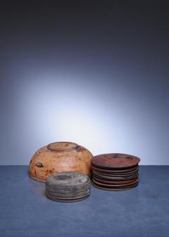 Set of 13 Swedish Folk Art Wooden Pieces - 846606