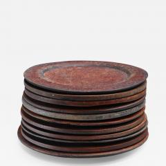 Set of 13 Swedish Folk Art Wooden Pieces - 848352