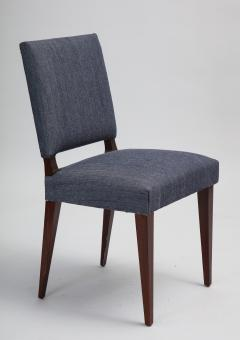 Set of 14 mid century mahogany dining chairs style of Dunbar - 1372494