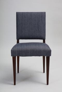 Set of 14 mid century mahogany dining chairs style of Dunbar - 1372496