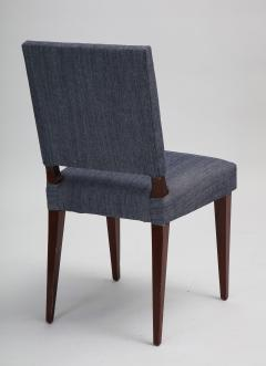 Set of 14 mid century mahogany dining chairs style of Dunbar - 1372497