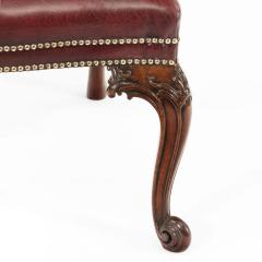 Set of 16 Victorian mahogany dining chairs in the Chippendale style - 826784