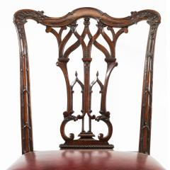Set of 16 Victorian mahogany dining chairs in the Chippendale style - 826787