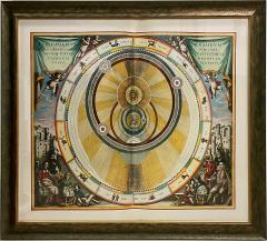 Set of 3 Celestial Lithographs Planisphaerium Coeleste 30 100 19th Century - 2099132