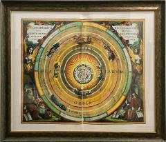 Set of 3 Celestial Lithographs Planisphaerium Coeleste 30 100 19th Century - 2099133