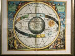 Set of 3 Celestial Lithographs Planisphaerium Coeleste 30 100 19th Century - 2099134