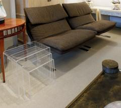 Set of 3 Lucite Nesting Tables 1970s - 730187