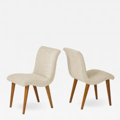 Set of 3 Modernist side Chairs designed by Russel Wright for Conant Ball - 770311