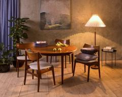 Set of 4 Funder Schmidt and Madsen teak chairs - 716295