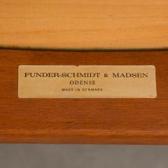 Set of 4 Funder Schmidt and Madsen teak chairs - 716298