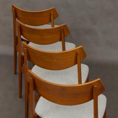 Set of 4 Funder Schmidt and Madsen teak chairs - 716302
