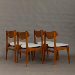 Set of 4 Funder Schmidt and Madsen teak chairs - 716303