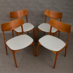 Set of 4 Funder Schmidt and Madsen teak chairs - 716306