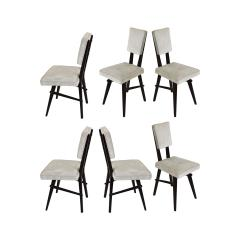 Set of 6 Chairs In The Style Of The School Of Turin Italy from 50s - 1497824